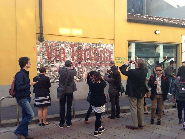MOSAICO DIGITALE: VIA TORTONA N.7#DESIGN STREET