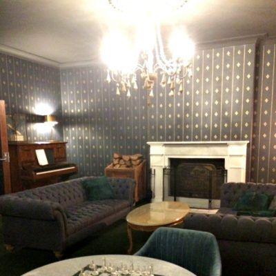 Berida Hotel Bowral Southern Highlands NSW guest lounge room with fireplace