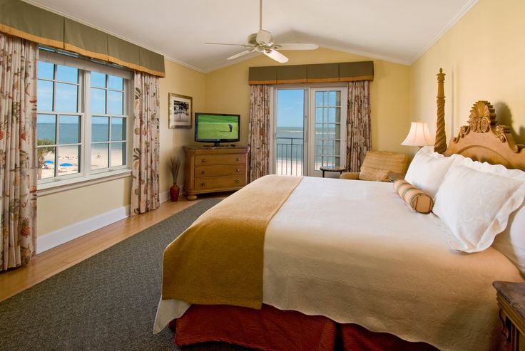 A 3rd floor Tower Room in the King and Prince Resort