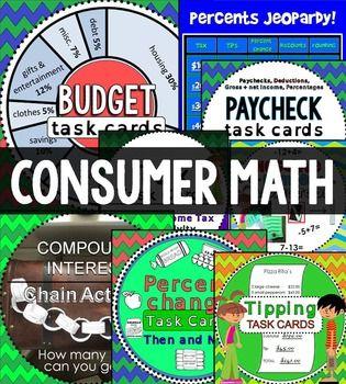 317 best Consumer Math Teaching images on Pinterest | Teaching ...