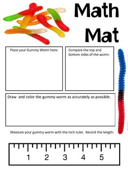 Measurement Gummy Worms