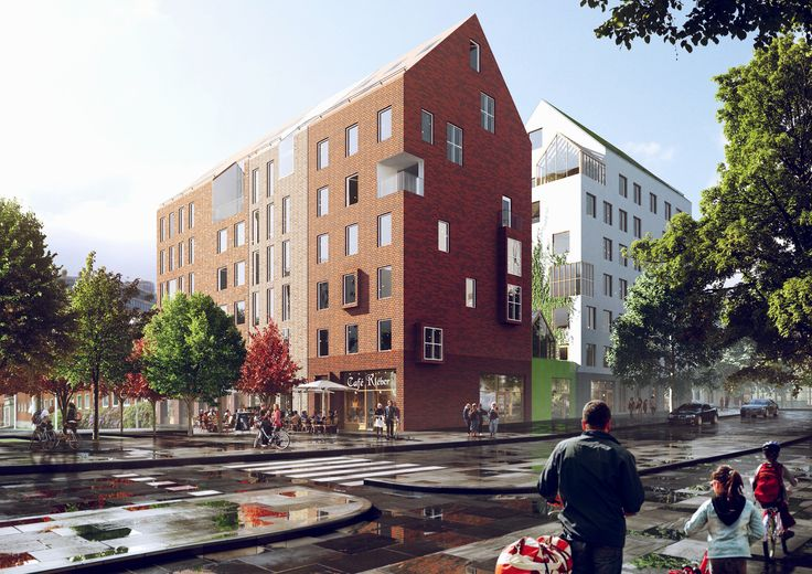 Västra Roslags-Näsby – Förslaget rymmer ca 90 bostäder.