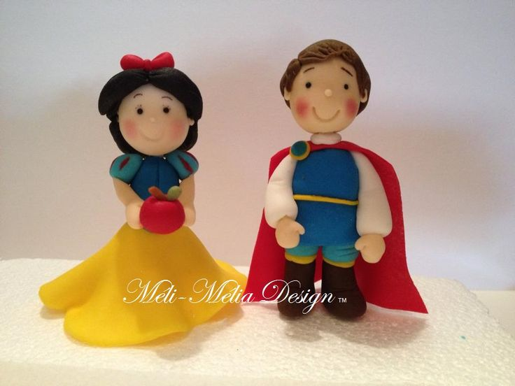 8 best cake toppers images on pinterest cake toppers anna and olaf - Blanche neige et son prince ...
