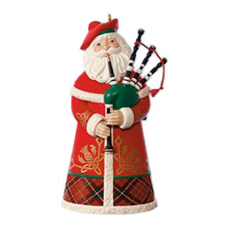 santas from around the world qxc available beginning ornament debut music pinterest hallmark ornaments ornament and santa
