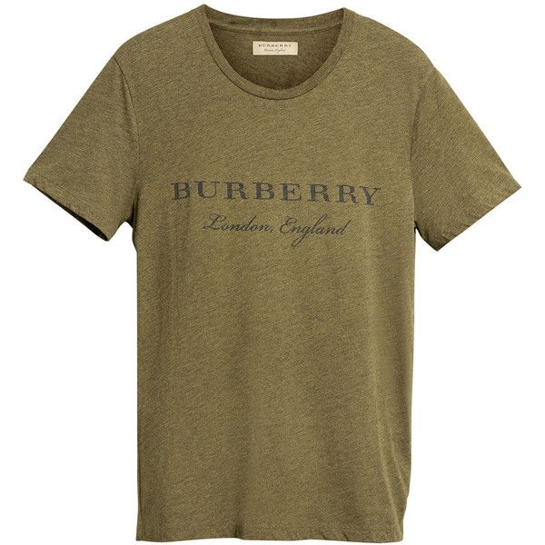 burberry crew neck t shirt