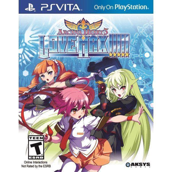 Arcana Heart 3: LOVEMAX!!!!! [Sony PS Vita]