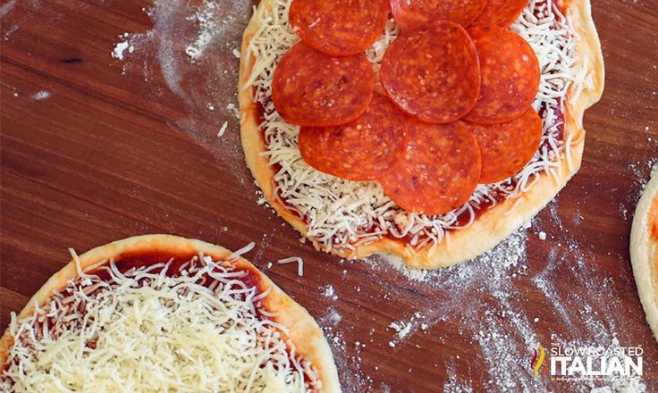2-Ingredient Pizza Dough makes 2 med  pizza crusts or one xl pizza crust.  Need: 1 cup Greek Yogurt (I used Fage Non-Fat Plain)  1 - 1 1/2 cups self-rising flour
