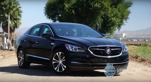 Review finds 2017 Buick LaCrosse boring but in a good way