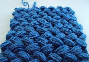 Volumetrico intrecciato modello crochet