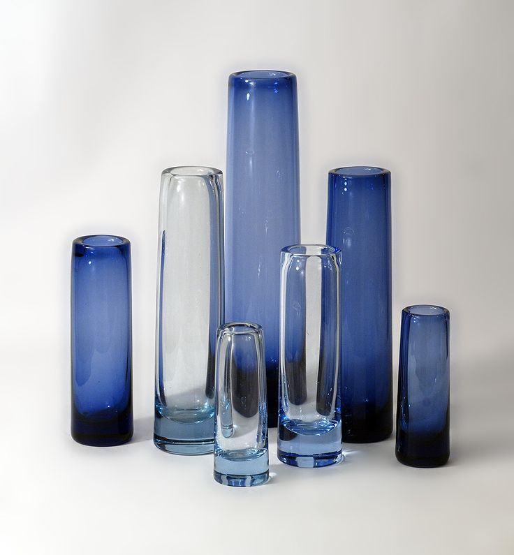 Designs by Per Lütken at Holmegaard Glass in Denmark, 1950s and 60s