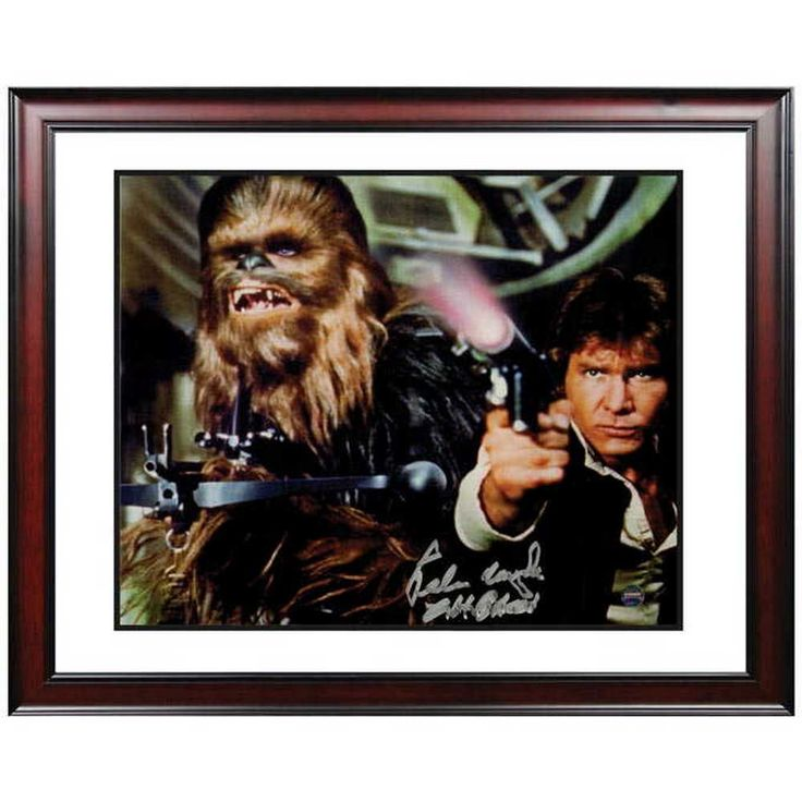 Han Solo and Chewbacca Signed Photo #starwars #starwarsfan #starwarstheforceawakens #starwarsart #legostarwars #starwarsday #starwarsnerd #starwarsbattlefront #StarWarsRebels #StarWarsMemes #starwarsdaily #StarWarsCosplay #starwarsthelastjedi #StarWarsBlackSeries #starwarsmeme #starwarslego #ilovestarwars #starwarstheblackseries #starwarsjokes #starwars8 #starwarsVII #starwarslove #lovestarwars
