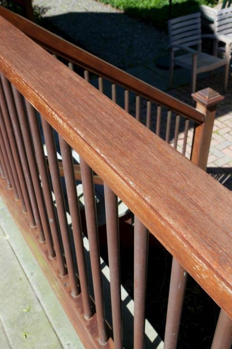 Best 7 Best Composite Deck With Mahogany Wood Rails And Copper Spindles Images On Pinterest Brass 400 x 300