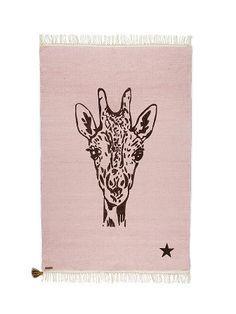 Vloerkleed Giraffe Roze