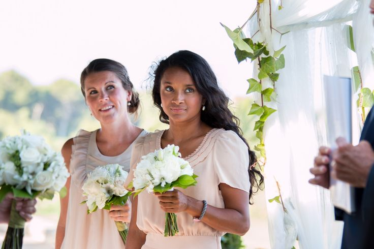 The bridesmaids, Wedding photography in Mallorca. Photo: Ida Carr