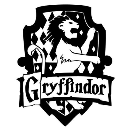 Vinyl decal sticker gryffindor house decal inspired by harry potter for windows cars laptops macbook etc