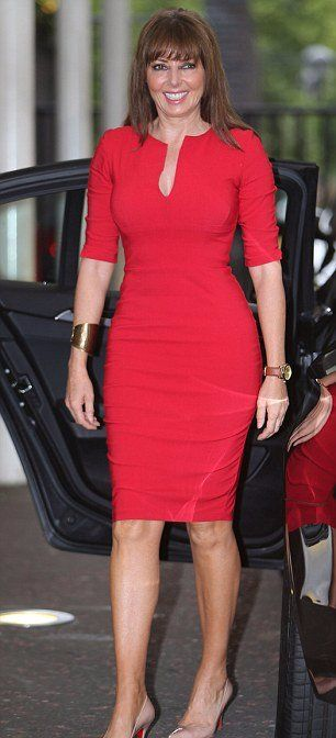 Carol Vorderman is the sexy TV personality who has graced many TV shows with her presence