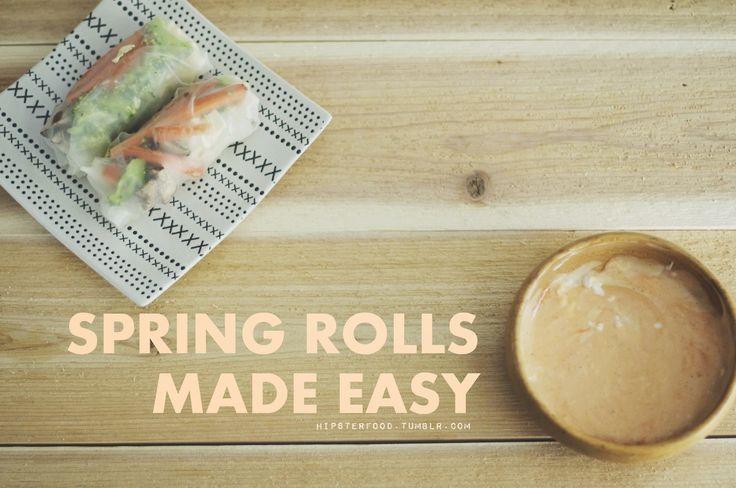 leftover turkey spring rolls recipes dishmaps leftover turkey spring ...