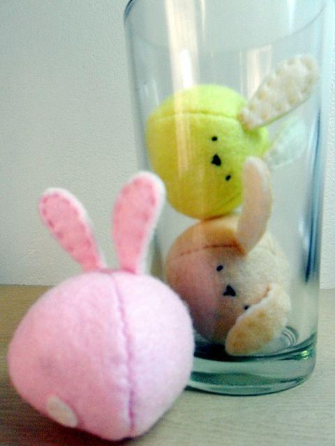 bunnies felt