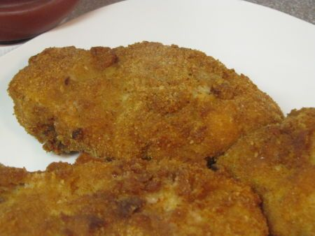 Fried Breaded Pork Tenderloin