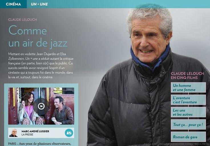 Claude Lelouch: comme un air de jazz - La Presse+