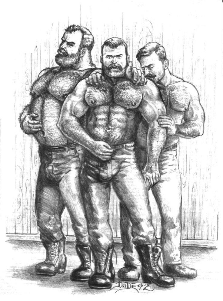 Gay gangsex