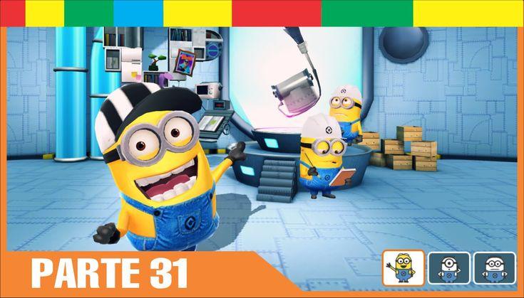 Despicable Me Minion Rush Espanol Completa nivel 31 Minions Juegos Para Niños y Bebes Español - YouTube