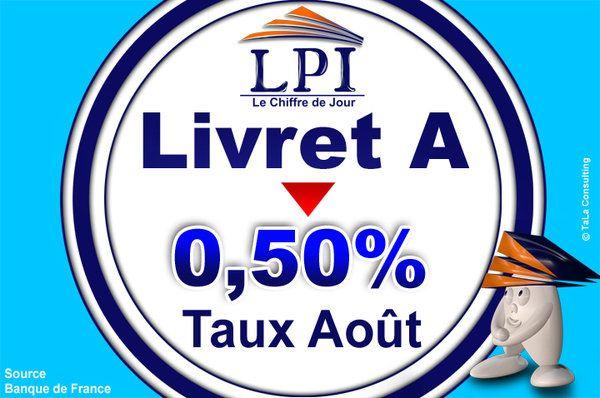 Le taux du Livret A va chuter le 1er août http://www.le-pret-immobilier.com/actualite/le-taux-du-livret-a-va-chuter-le-1er-aout-6932.html