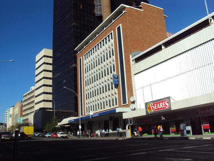 Streets of Windhoek, Namibia.