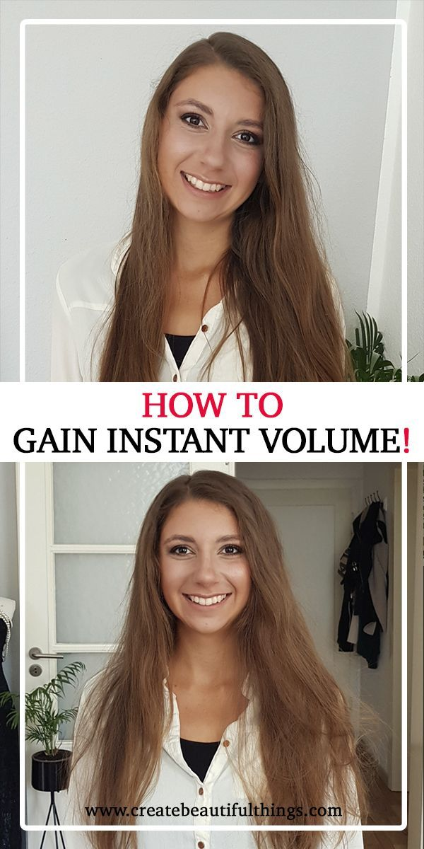 7 Simple Steps to Instant Hair Volume – Good Hair Day