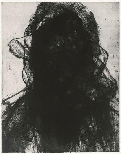 Shop - Glenn Brown - Layered Portrait (after Lucian Freud) 3 - Gagosian Gallery