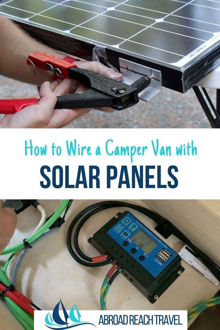 Installing Van Solar Power Abroad Reach Travel Solar Energy Panels Solar Panels Solar Power Panels