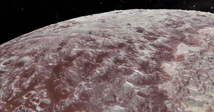 La NASA a lancé la semaine dernièresa vidéo du survol de la planète naine Pluton. Créé à partir des données analyséespar la sonde New Horizons, le film est constitué d'images de synthèse qui reproduisent ce q...
