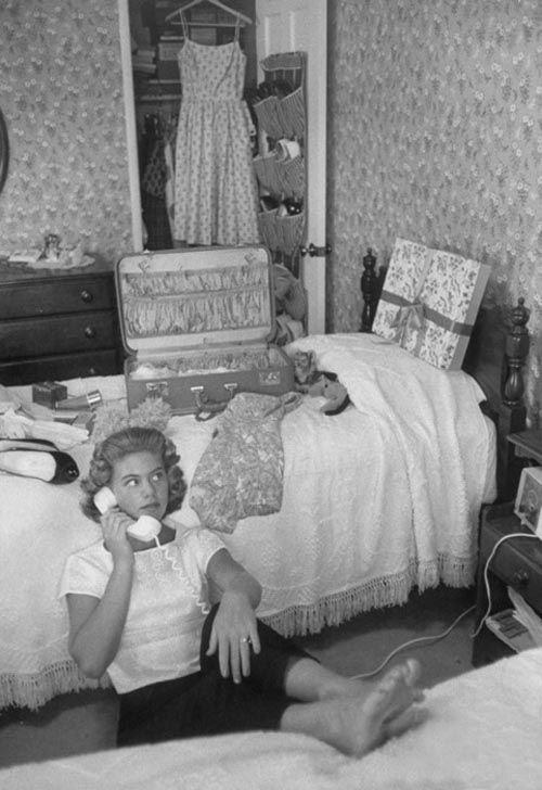 1950's teenage bedroom