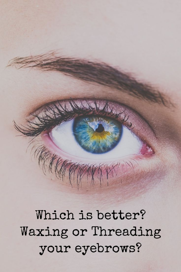 Which is better? Waxing or Threading your eyebrows? Click to find out. #waxing #threading #eyebrows #eyebrowshaping #beauty #eyes #cosmetology