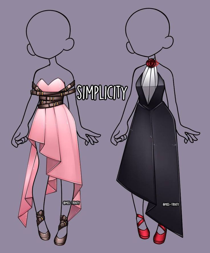 Cute Outfits Drawings Drawing Anime Clothes Anime Outfits Fashion Design Sketches