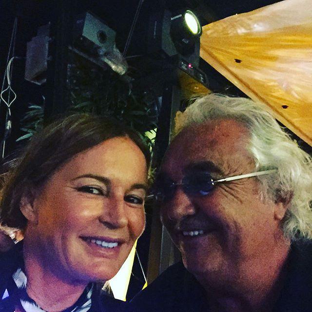 #FlavioBriatore Flavio Briatore: #twigamonaco #Eva cavalli in grande forma