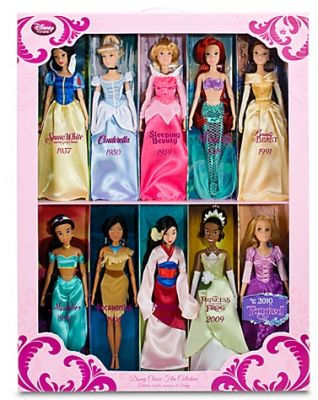 Disney Princess Dolls! I really want to collect all of them for my future little princess someday <3