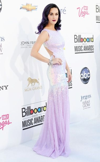 Katy Perry looking lovely in French Lavender!