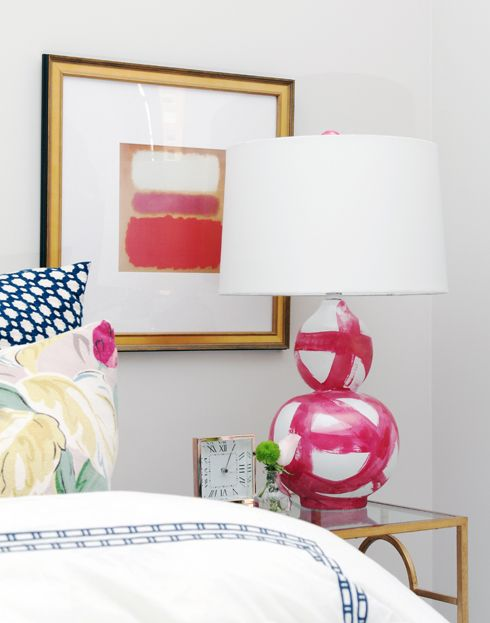 amazing brushstroke lamp