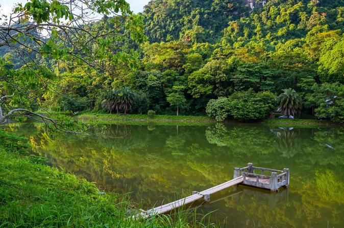 Private Cuc Phuong National Park Day Trip Cuc Phuong National park in Ninh Binh is the destination of this excursion. Through this special trip, tourists explore the beauty of nature by visiting the dense, grass jungle valley, seeing the giant ancient tree and various fauna and flora. In addition, rare primates are available for tourists to see and take photographs.In the morning, tour guide and driver will pick you up at the hotel (8:00AM) and transfer to Cuc Phuong National ...