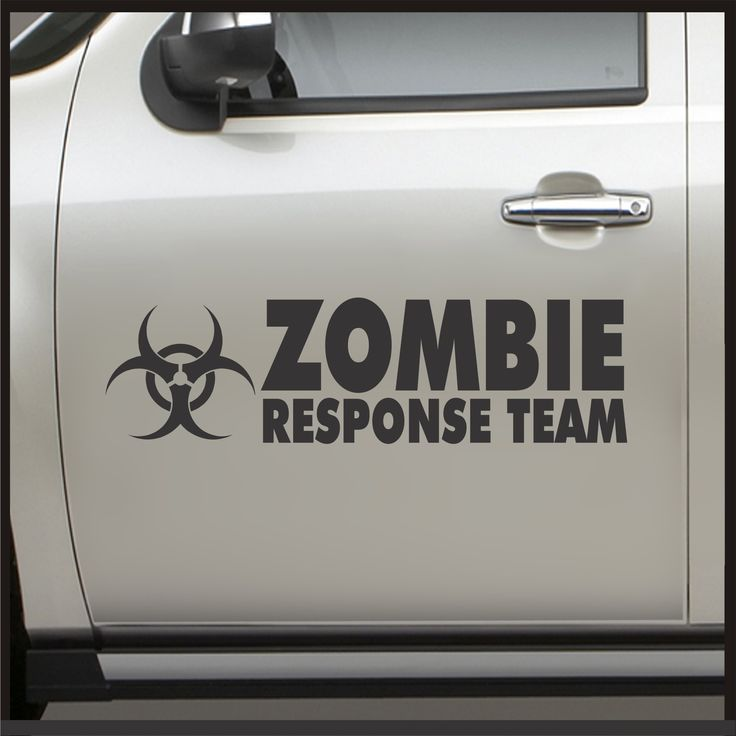 Best Zombie Images On Pinterest Zombies Stickers And Truck - Vinyl decal stickers for carsbestvinyl stickers for cars ideas on pinterest vinyl car