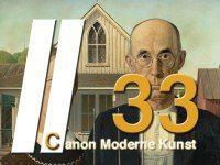 Grant Wood - American Gothic - Moderne Kunst