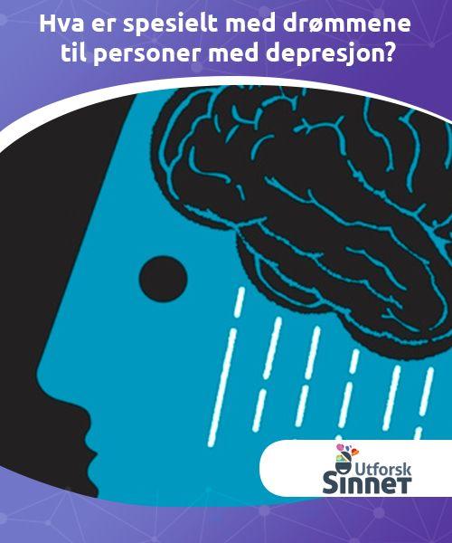 Hva er spesielt med drømmene til personer med depresjon?  Personer med depresjon har en tendens til å oppleve forskjellige typer søvnforstyrrelser. Men her er et merkelig faktum som vitenskapen har bevist: Drømmene til personer med depresjon varer opptil tre ganger lenger enn hos mennesker uten depresjon.
