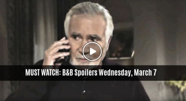 MUST WATCH: The Bold And The Beautiful Preview Video Wednesday, March 7: Eric Can't Find Quinn, Frightened She Hurt Bill