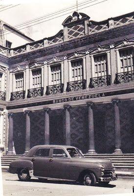 CARACAS EN RETROSPECTIVA: El cajero principal del Banco de Venezuela