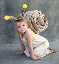 DIY kostým slimáka, ktorý zvládne každý :) #diy #navod #kostym #maska #karneval #slimak #postup #handmade