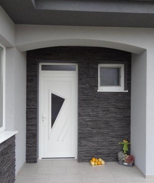 Vchodové dvere s plastovou dvernou výplňou GAVA 091L