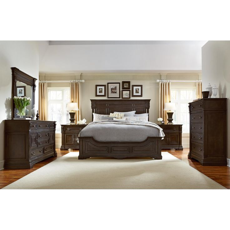 English Style With Old World Spanish Influence The American Drew Manchester Court Bedroom Furniture Set