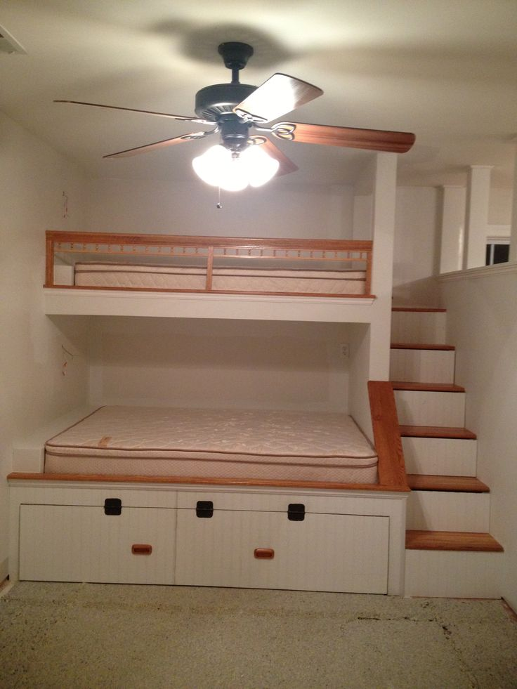 Built in bunk beds https://www.facebook.com/carolinacustomizedinteriors?ref=br_tf