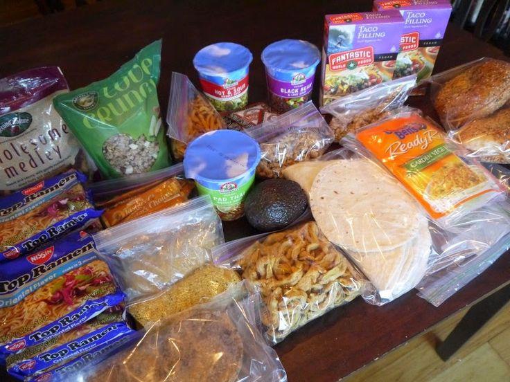 A Wonderful Vegan Life: 3 Night Vegan Backpacking Food Guide